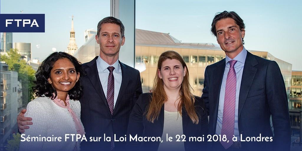 Séminaire FTPA : la loi Macron